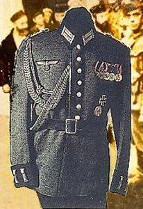 Jøder og tysk uniform