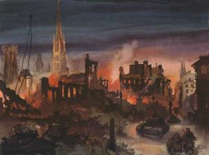 Billede af Hans Liska - tyske soldater i Rouen