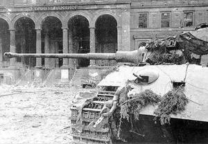 Tiger Tank i Berlin i 1945