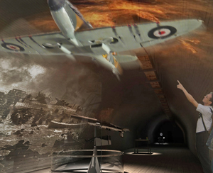 Illustration: spitfire ved Dunkirk