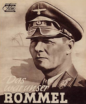 Forsiden til en Erwin Rommel film