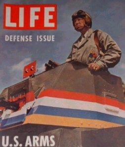 Patton på forsiden af Life