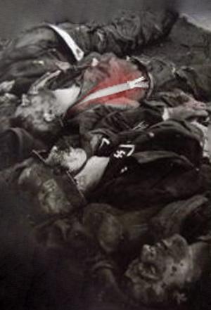 døde ss soldater