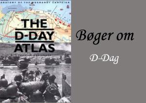 Engelske bøger om d-Day