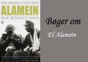 Engelske bøger om slaget ved El Alamein