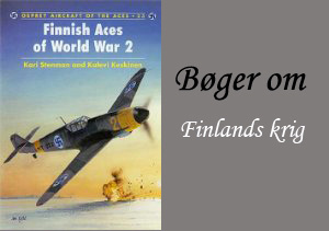 Engelske bøger om Finland under 2. Verdenskrig