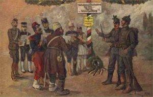 Tysk humor fra 1914