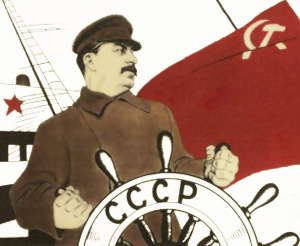 Stalin på plakat