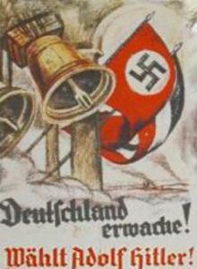 NSDAP valgplakat - Vælg Adolf Hitler