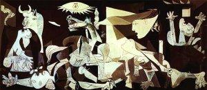 Picasso maleriet Guernica