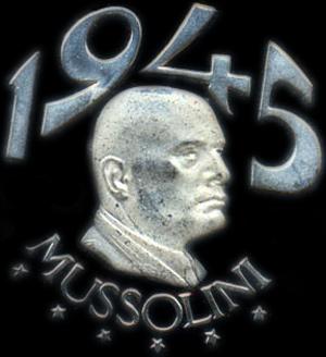 Mussolini og året 1945