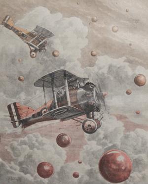 Flyverjagt efter balloner