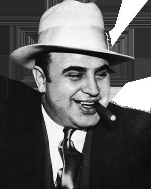Foto af Al Capone